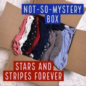 Mystery Box Theme: Stars and Stripes Forever